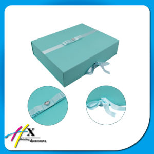 Flat Pack Accept Custom Order Folding Paper Gift Boxes pictures & photos
