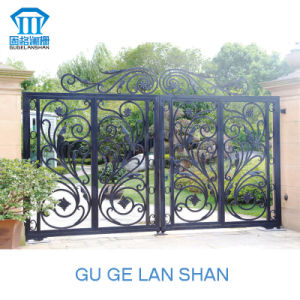 High Quality Crafted Wrought Iron Gate/Door 024 pictures & photos