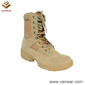 Tan Desert Suede Military Desert Boots (WDB047) pictures & photos