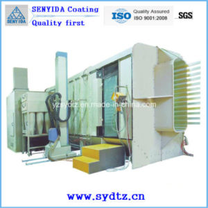 High Quality Powder Coating Electrostatic Spray Painting Room pictures & photos