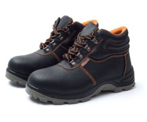 c9c7c00acfb Cheap Leather Safety Boots Men Steel Toe Factory Work Boots Shoes