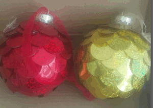 Christmas Glass Ball Metallic Gold pictures & photos