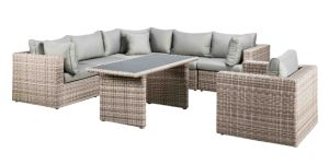 Outdoor Furniture Wicker Garden Patio Furniture Sectional Sofa Set
