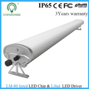 Single T8 IP65 LED Tube Fixture/Tri-Proof Light with Hang system