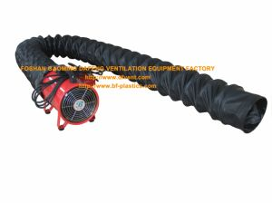 Explosion Proof Portable Ventilation Fan with Anti Static Flexible Duct pictures & photos