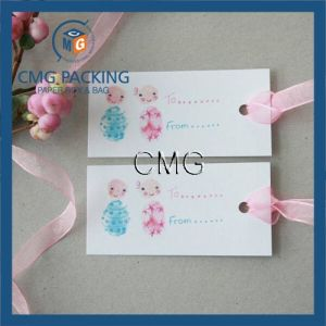 Sweet Baby Gift Tags with Ribbon pictures & photos
