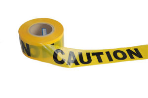 SGS Certification Warning Tape Barricade Caution Tape pictures & photos