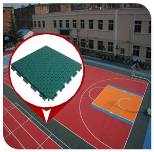 China Superior Quality Pp Plastic Material Indoor Outdoor Basketball Interlocking Sport Court Flooring Tile China Pp Interlocking Floor Tiles Basketball Interlocking Sport Flooring Tile