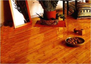Engineered Bamboo Flooring HDF Core Teak Color pictures & photos