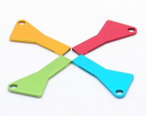 Colorful Hot Sale Key Shaped USB Flash Drive pictures & photos