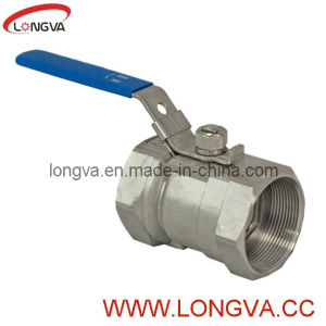 Sanitary Stainless Steel One Piece Ball Valve pictures & photos