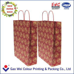 Top Quality New Design Kraft Paper Bag Printed pictures & photos