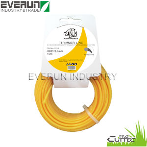 15m Card Head Packing Nylon String Trimmer Line pictures & photos