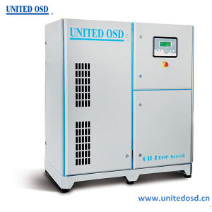 China Oil-Free Oil-Less Scroll Air Compressor for Industrial