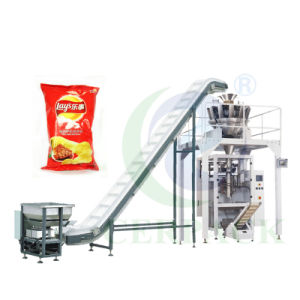 Cer High Quality Multi-Heads Weigher Chips Packaging Machine