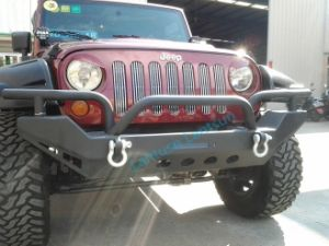 Car Accessories Black Front Bumper for Jeep Wrangler Jk pictures & photos