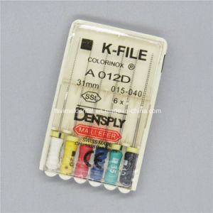 Stainless Steel Dental Colorful Dentsply Endo R File pictures & photos