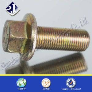 Fastener Lock Screw Flange Bolt (Serrated) pictures & photos