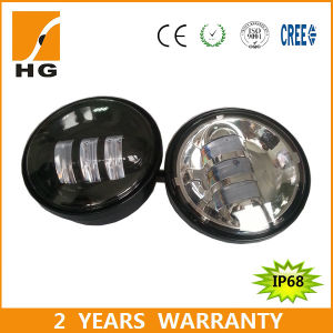 18W 4.5inch IP67 Motorcycle LED Fog Light for Harley-Davidson