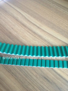 Single Sided Coating PU Open Timing Belt pictures & photos