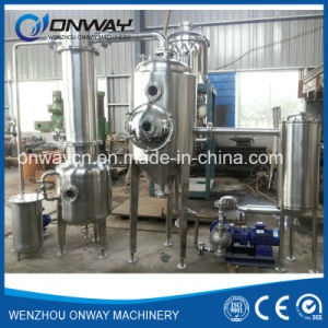 Sjn Higher Efficient Factory Price Stainless Steel Vacuum Evaporator Machinery Concentrated Fruit Juice