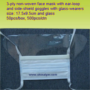 Ly Dust Mask with Eye Shield (LY-FM-E) pictures & photos