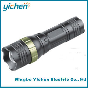 Adjustable Focus Zoom Flashlight Torch