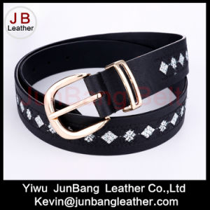 Woment′s Embroidery Fashion Jeans Belt in High Quality pictures & photos