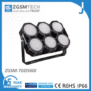 Outdoor Stadium Lighting LED, Industrial Aluminum 560W LED High Lumen LED Flood Lights pictures & photos