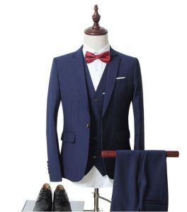 China Fashion Design Coat Pant Men Wedding Suit China Men Suit