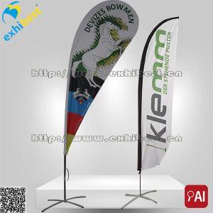 Custom Sports Flags/Promotion Flying Teardrop Banner Tear Drop Banner