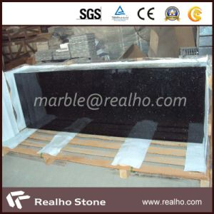 Top Polished High Quality Black Galaxy Granite Salb for Sale