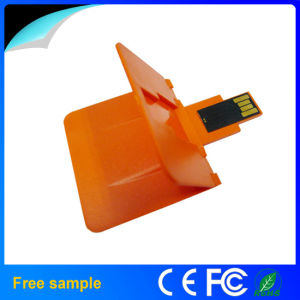Foldable Plastic Business Credit Card USB Memory Disk 1GB 2GB