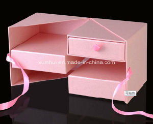 Paper Gift Storage Display Box with Drawer for Packing Socks