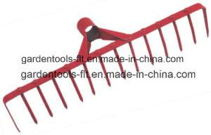 Gardening Tools Metal Leaf Hand Garden Rake For Cultivation