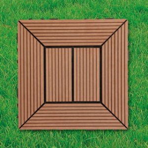 WPC Wood Plastic Composite Decking Floor Tile for Outdoor pictures & photos