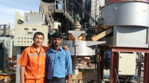 Qunfeng Roof Tile Making Machine pictures & photos