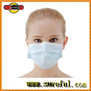 3ply Disposable Face Mask Non Woven Face Mask Ear Loop Face Mask pictures & photos