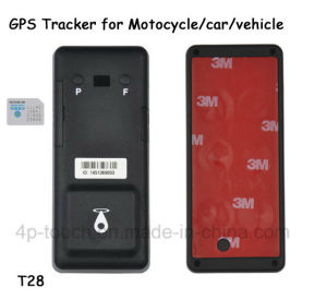 Long Standby Battery Car/Motorcycle GPS Tracker with Phone APP (T28) pictures & photos