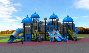 2017 New Mould Factory Kids Exercise Outdoor/Indoor Playground Slide Equipment Amusement Park European and Korea Castle pictures & photos