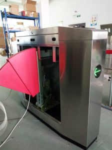 Full Automatic OEM Swing Flap Barrier Fast Speed Flap Barrier pictures & photos