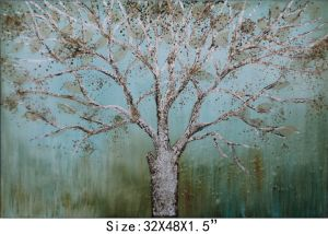 Modern Decoration Oil Painting Trees Beautiful Design (LH-085000)