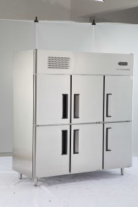 Ce Certificakte Kitchen Commercial Stainless Steel Upright Refrigerator Equipment Deep Freezer pictures & photos