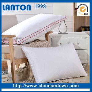 China Factory Hotel Comfort White Goose Down Pillow pictures & photos