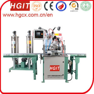 Polyurethane Potting Machine with The Cutting Bridge Machine pictures & photos