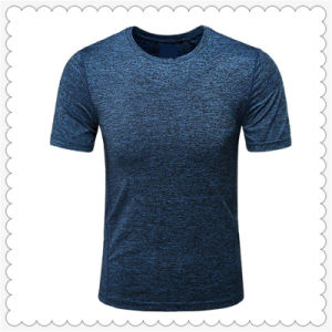 6f32a9761 China Wholesale Customized Blank Elastic Cationic Men′s Racing T ...