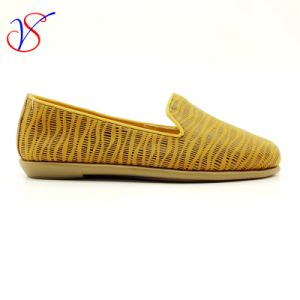 Four Color Soft Comfortable Flax Lady Women Shoes Sv-FT 014