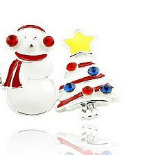 Christmas Jewelry/Christmas Earring/Christmas Snowman (XER13367) pictures & photos