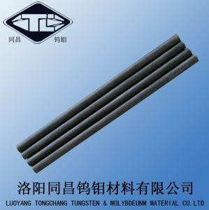 Pure Molybdenum Round Rod in Black and Ground Surface pictures & photos