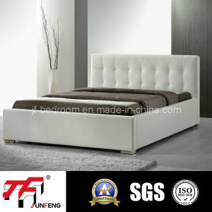 Simple White Color Bed J-03